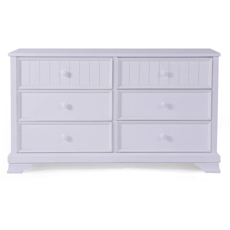 Better Homes And Gardens Kids Sebring 6 Drawer Dresser White