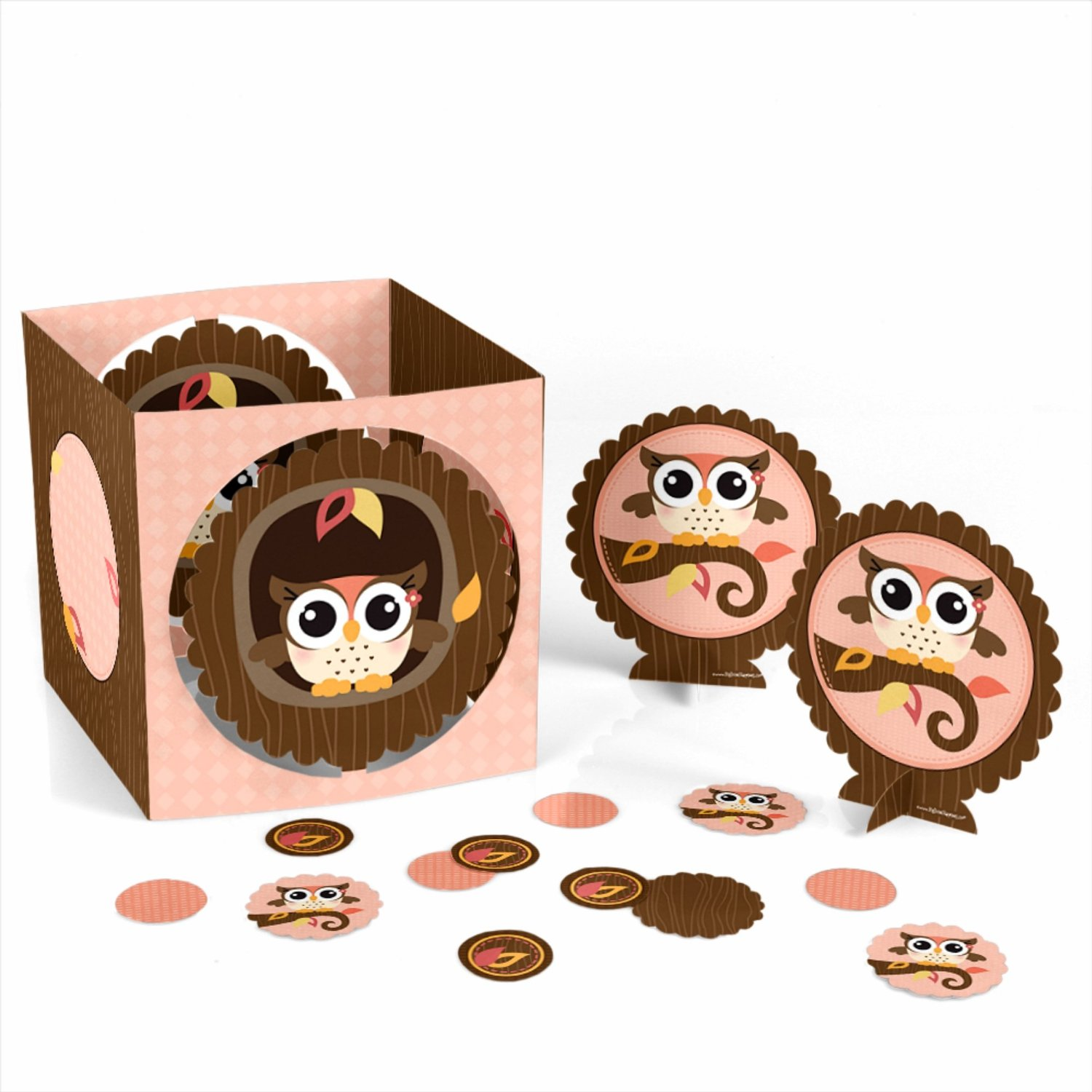Owl Girl - Party Table Decorating Kit