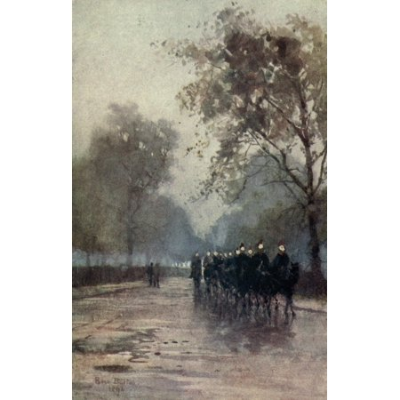 Familiar London 1904 Constitution Hill Poster Print By  Rose Barton