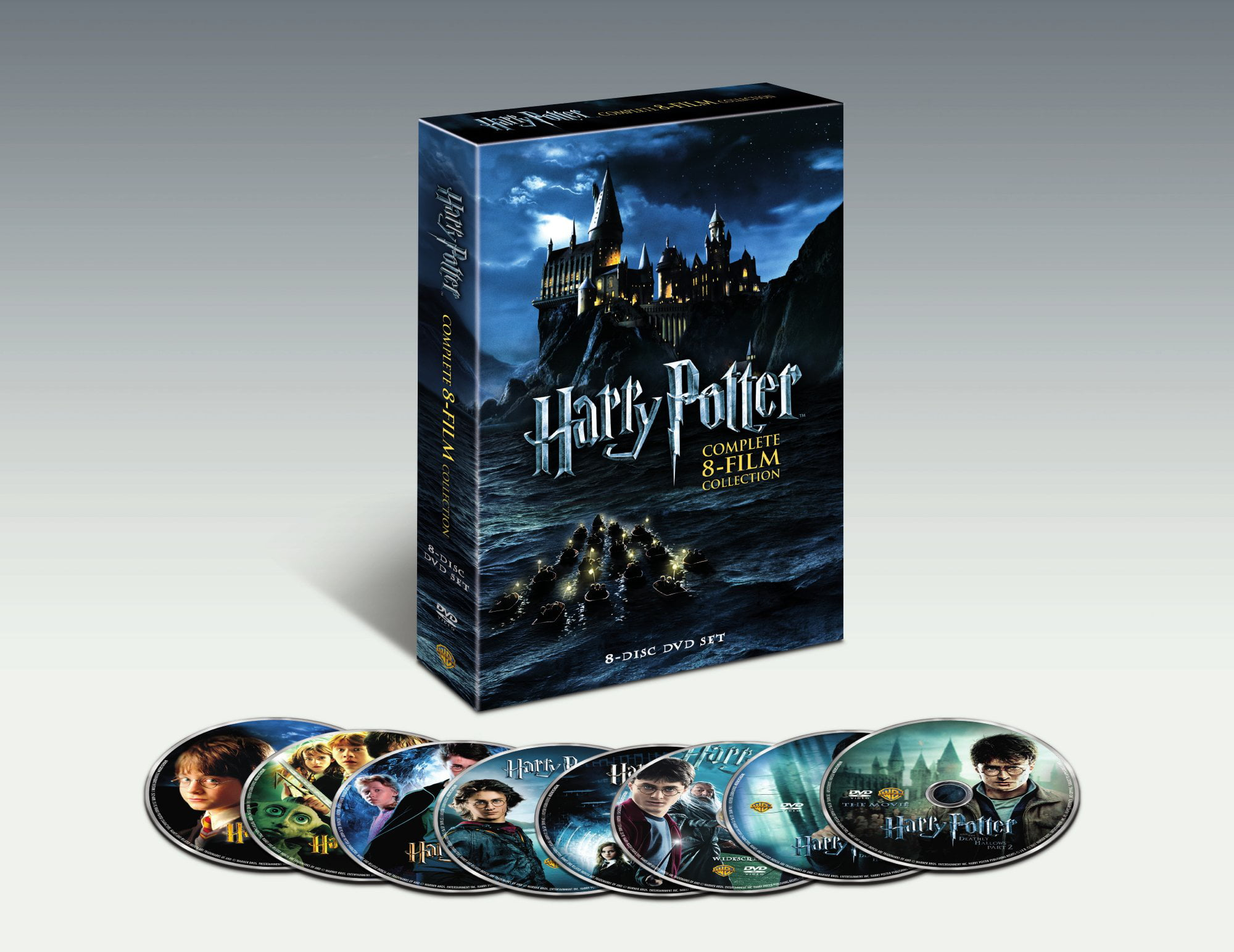 Harry Potter Complete 8-Film Collection (DVD) by WARNER HOME ENTERTAINMENT