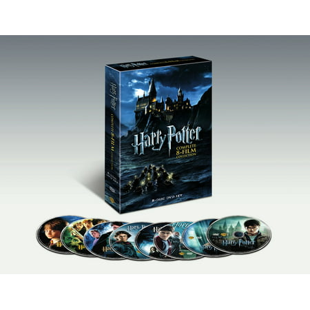 Harry Potter Complete 8-Film Collection (DVD) - Halloween 4 Film Complet