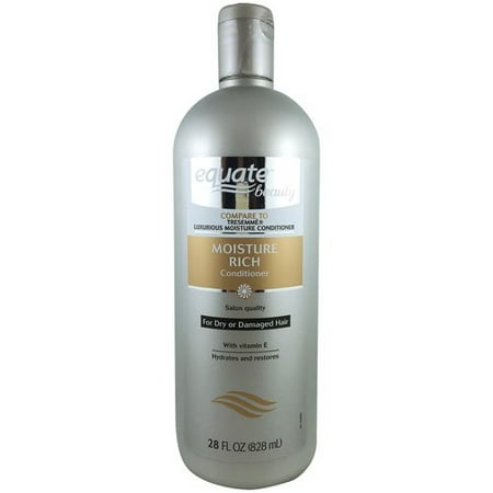 (2 Pack) Equate Beauty Moisture Rich Conditioner, 28 Fl Oz