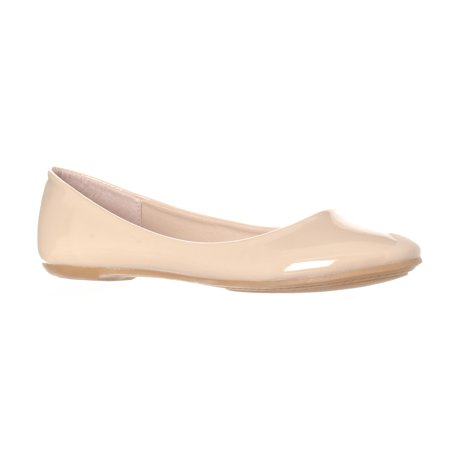 Riverberry Women's Aria Basic Closed Round Toe Ballet Flat Slip On Shoe