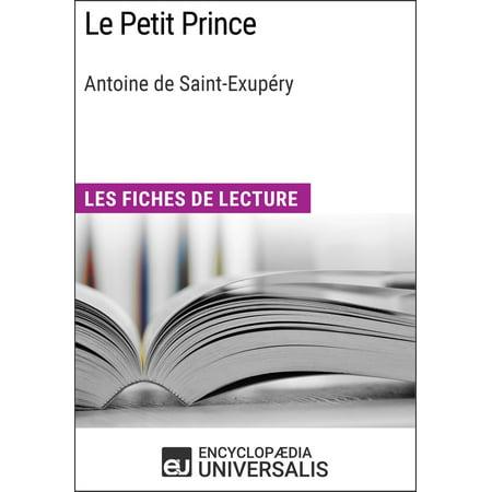Le Petit Prince d'Antoine de Saint-Exupéry -