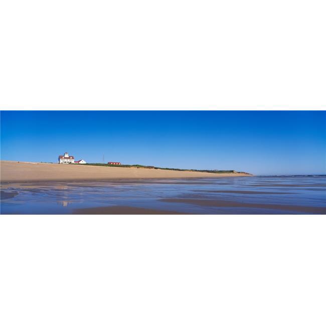 Panoramic Images PPI59863S Coast Guard Beach Cape Cod National Seashore Wellfleet Ma Poster Print, 27 x 9