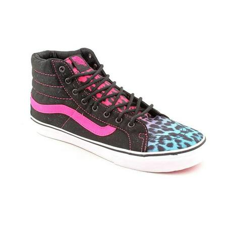 VANS - Vans Womens Sk8-Hi Slim Leopard Magenta Blue Black Skateboarding  Shoes - Walmart.com 1c6ce2d2f2