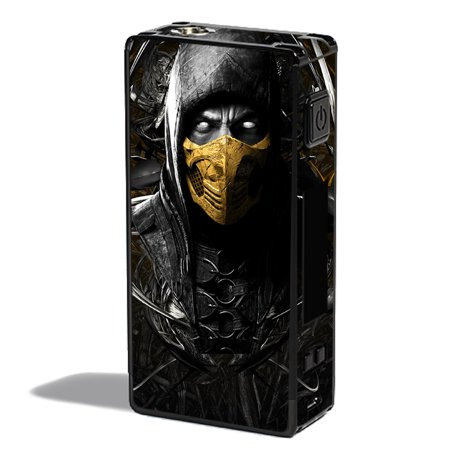 Scorpion Mask (Skins Decals For Innokin Mvp 4 Vape Mod / Scorpion Ninja)
