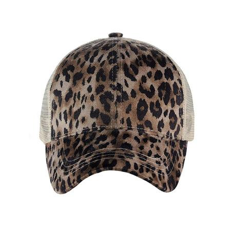 1102de3432b C.C - C.C Ponycap Messy High Bun Ponytail Adjustable Mesh Trucker Baseball  Cap Hat