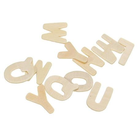 Wooden English Spelling Building Blocks For Kids English Develop Children Gift - image 3 de 8