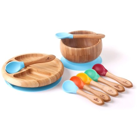 Avanchy Rainbow Baby Gift Set Blue (Best South Indian Dishes)