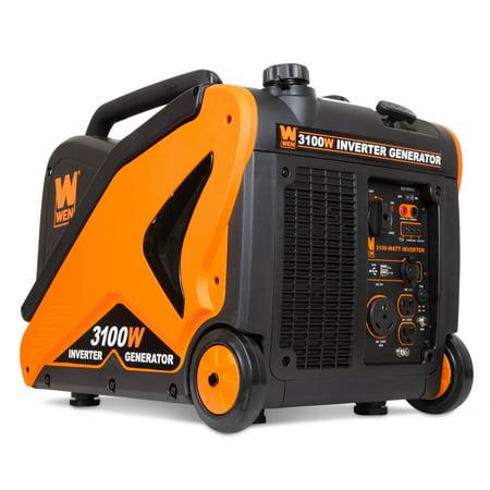 WEN Super Quiet 3100-Watt RV-Ready Portable Inverter Generator, CARB
