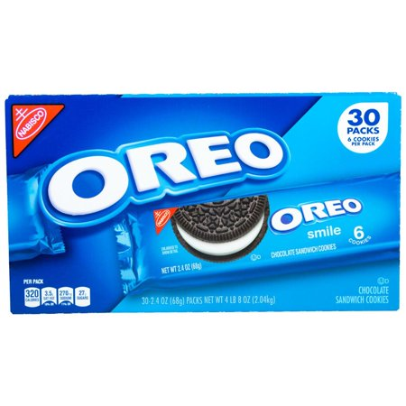 Product Of Nabisco Oreo Chocolate Sandwich Cookies (2.4 Oz., 30 Ct.) -Pack Of 2 - For Vending Machine, Schools , parties, Retail Stores](Oreo Treats For Halloween)