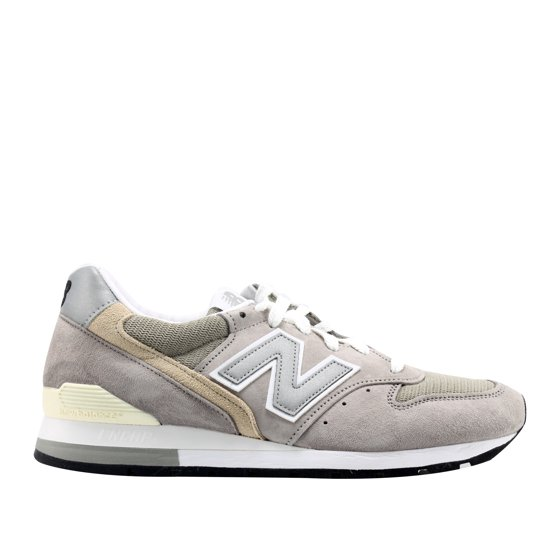the latest cd2d9 2bd40 Mens New Balance 996 Made In USA Grey White Black M996