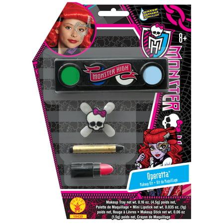 Monster High Operetta Costume Makeup Kit (Monster High Halloween Makeup Tutorial)