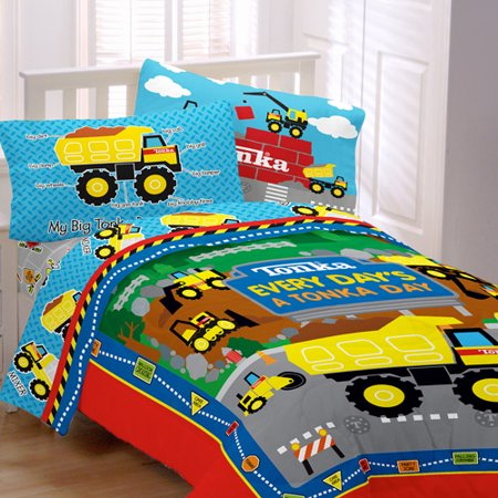 Tonka Truck Bedding Set