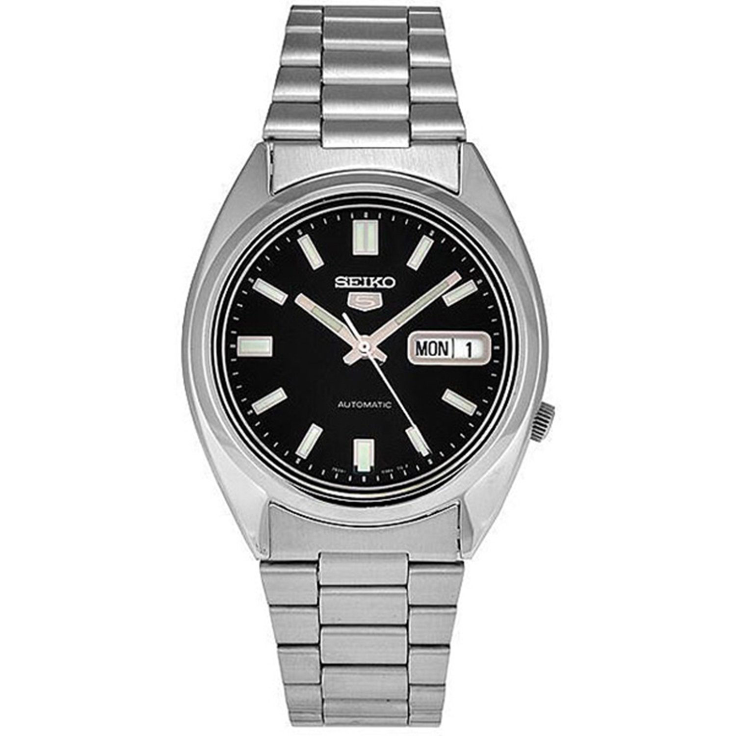 Seiko Men's 5 Automatic SNXS79K Silver Stainless-Steel Au...