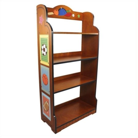 fantasy fields lil 39 sports fan bookshelf. Black Bedroom Furniture Sets. Home Design Ideas