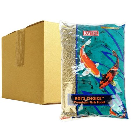 Kaytee Kois Choice Premium Fish Food - BULK - 40 lbs - (4 x 10 lb Bag)