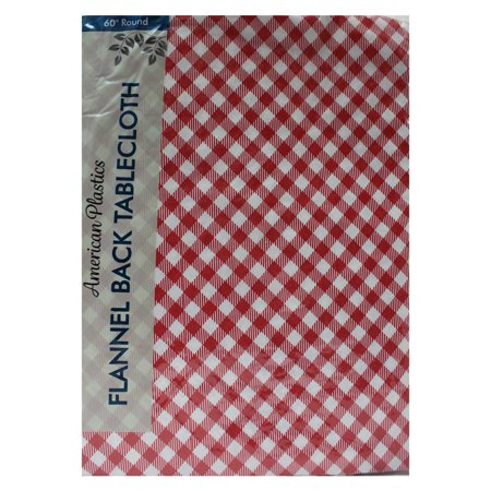 Tablecloth 60 Quot Multi Colored Checkered Round Walmart Com