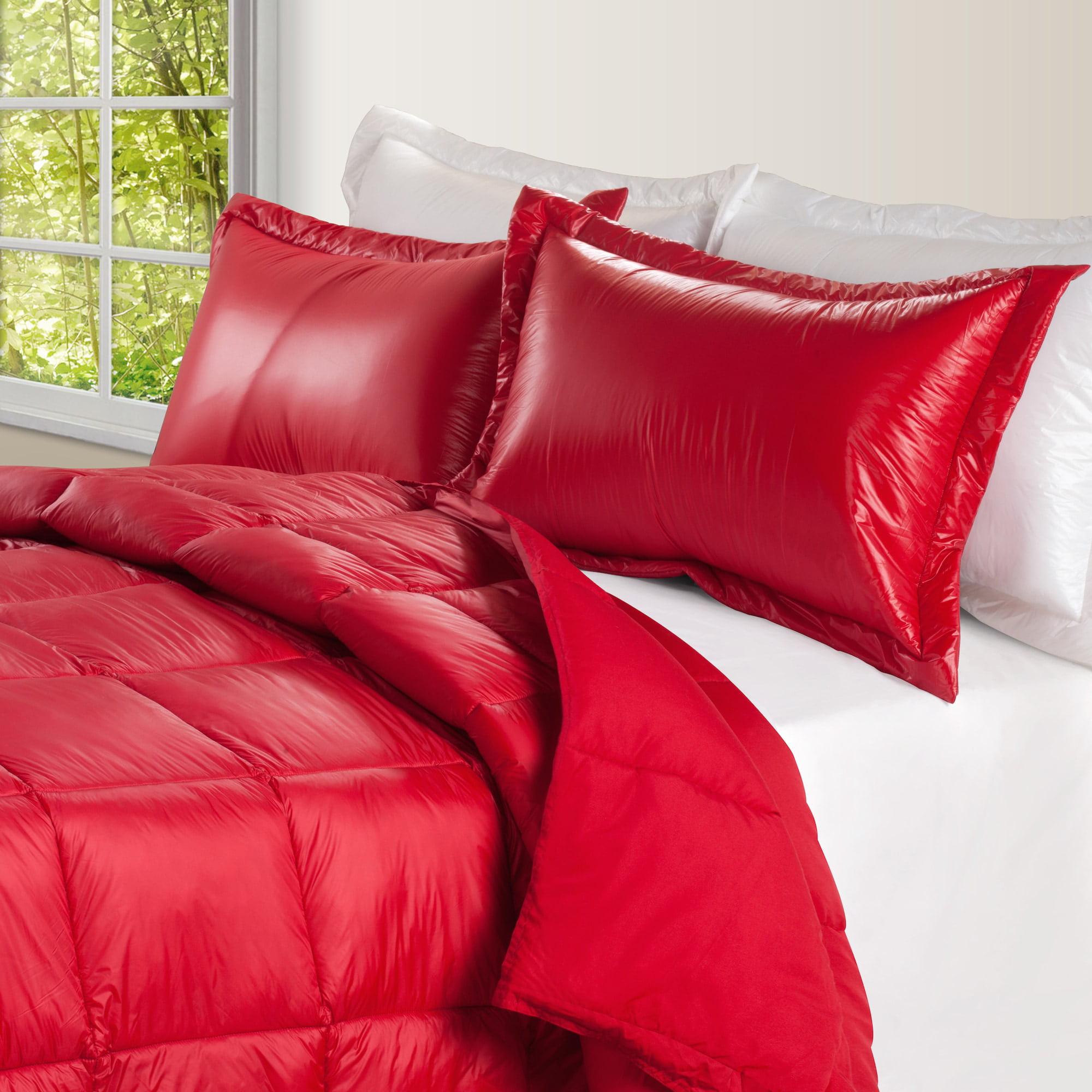 Ultralite Nylon Down Alternative Indoor/Outdoor Comforter Twin - Pewter