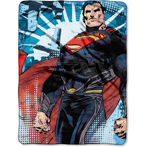 "Superman From Smallville 60"" x 46"" Micro Throw"