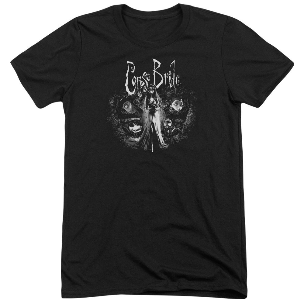 Corpse Bride Bride To Be Mens Tri-Blend Short Sleeve Shirt