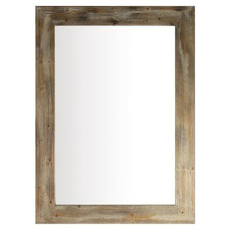 Erias Home Designs Stanton Timber Mirror - Walmart.com