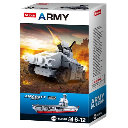 Sluban Kids Army Aircraft Fighter Jet Tank Building Blocks 44 Pcs set Building Toy Army Fighter Jet | Indoor Games for (Best Fighter Jet Game Iphone)
