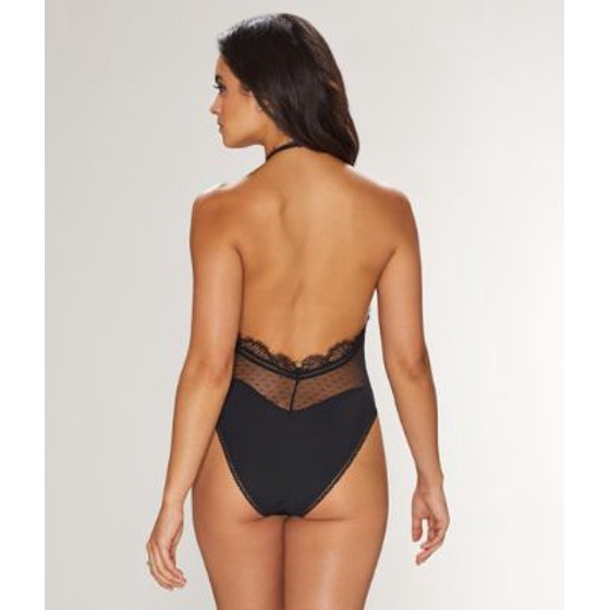 c941cde48b46 Thistle   Spire - Thistle   Spire Amore Plunge Bodysuit - Walmart.com