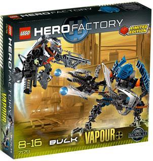 Hero Factory Bulk & Vapour Set LEGO 7179