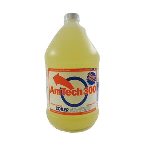 Amtech 300 Wood Boiler Water Treatment, Corrosion Inhibitor, 1 Gallon