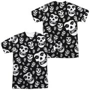 Misfits - Fiends All Over (Front/Back Print) - Short Sleeve Shirt - X-Large