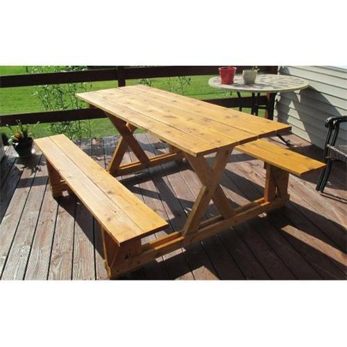 Infinite Cedar EZ-Access Picnic Table