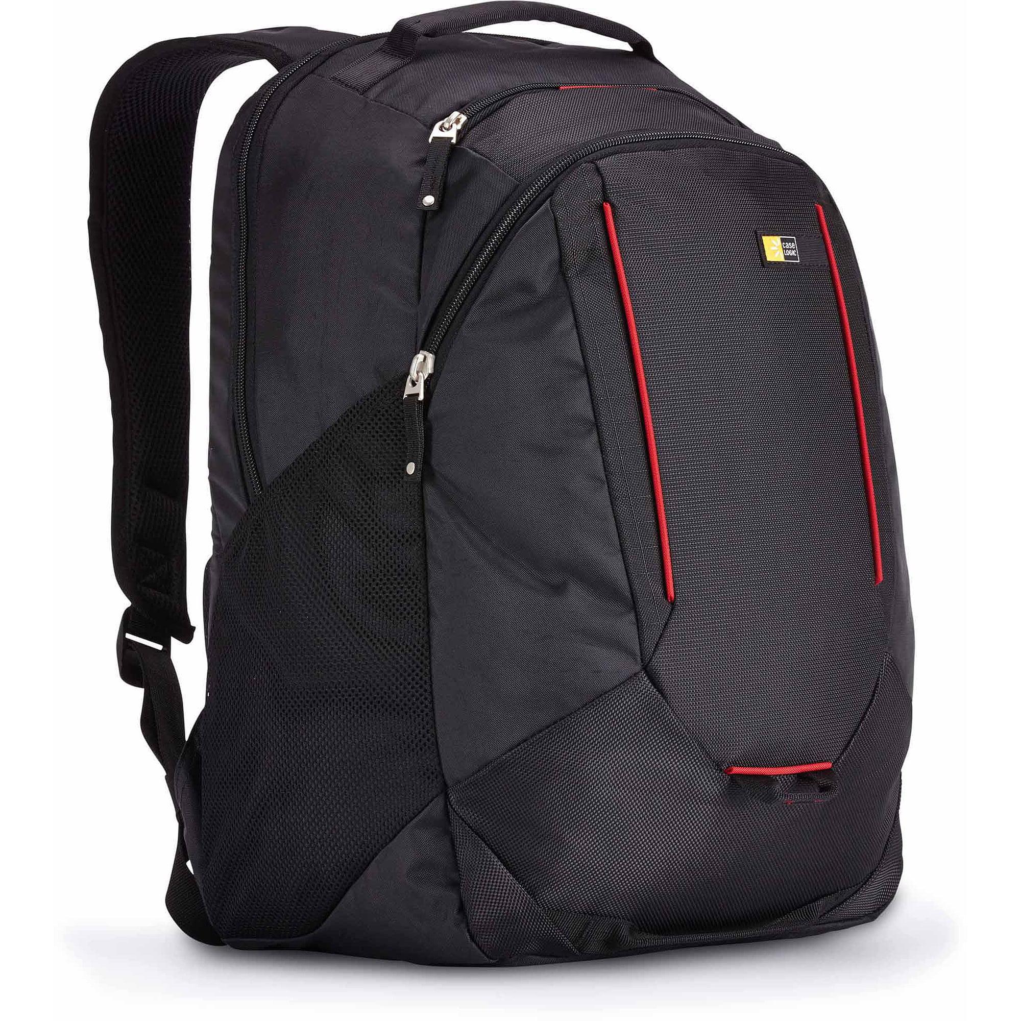Case Logic BPEB-115 Evolution Laptop Backpack with Lumbar Padding and Grab Handles, Black