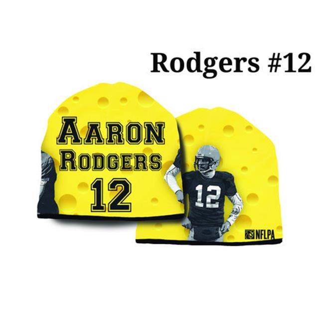 Green Bay Packers Aaron Rogers Cheese Beanie  - Heavyweight