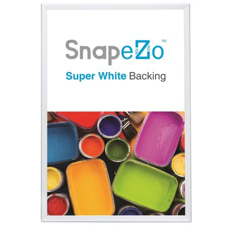 White Snap Frame Poster Size 36x48 - 1.7-inch Width - Walmart.com
