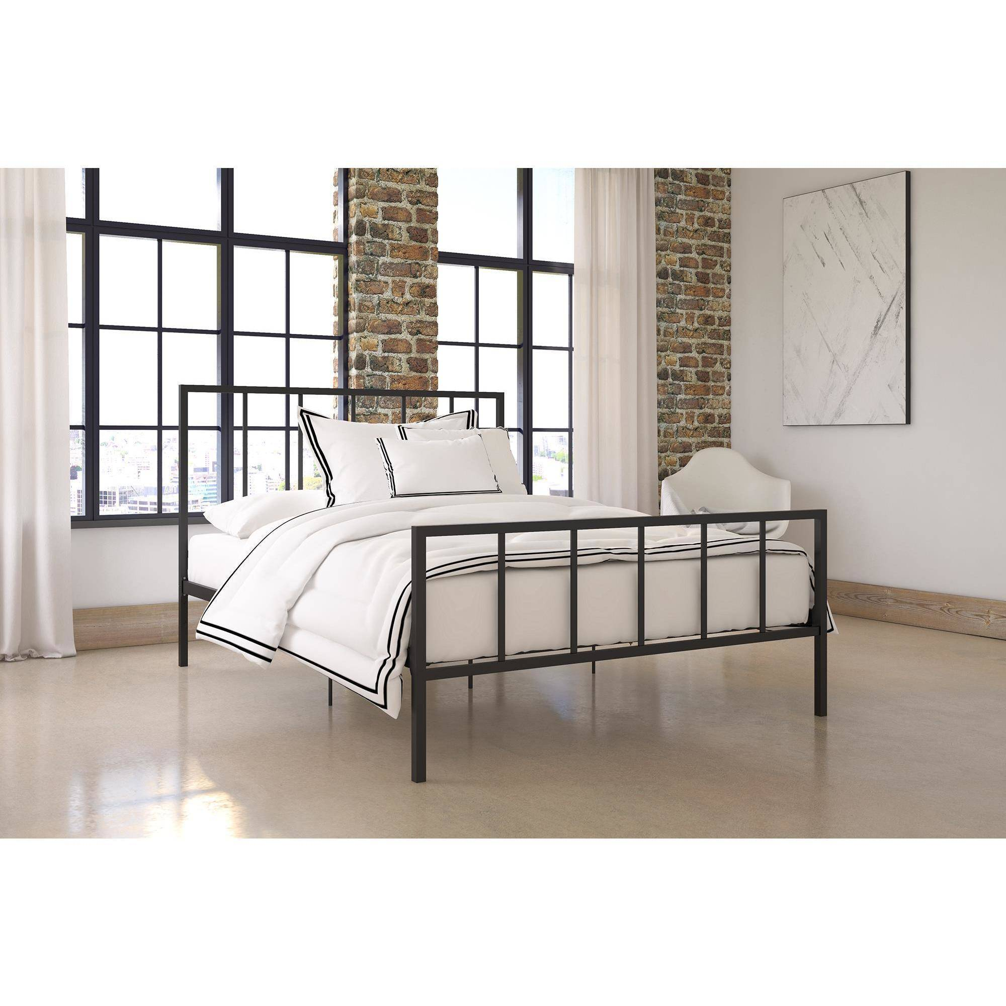 DHP Stella Metal Platform Bed, Multiple Colors, Multiple Sizes by Ameriwood