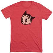 Astro Boy Face Mens Tri-Blend Short Sleeve Shirt