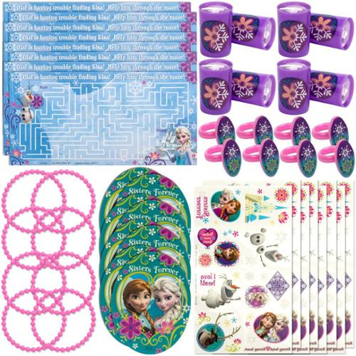 Disney's Frozen Party Favor Value Pack (For 8 Guests) - Party Supplies