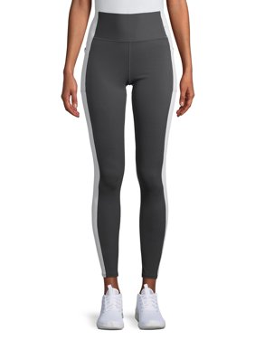 Avia Women's Flex-Tech Active Compression Leggings with Side Detail