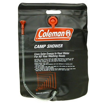 Coleman 5-Gallon Shower Camp - Battery Camp Shower