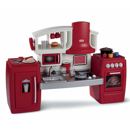 Little Tikes Cook 'N' Grow Kitchen with 26-piece Accessory Set
