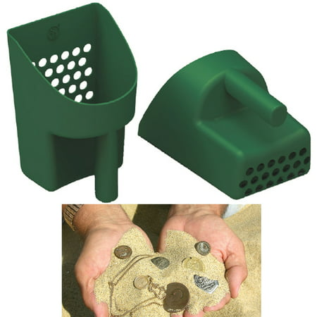 Treasure Hunting Sand Scoop Sifter Metal Detecting Beach Shovel Gold Mining