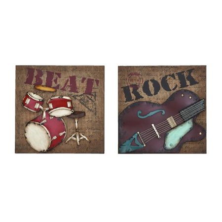 Musical Rock And Roll Instrument Wall Decor