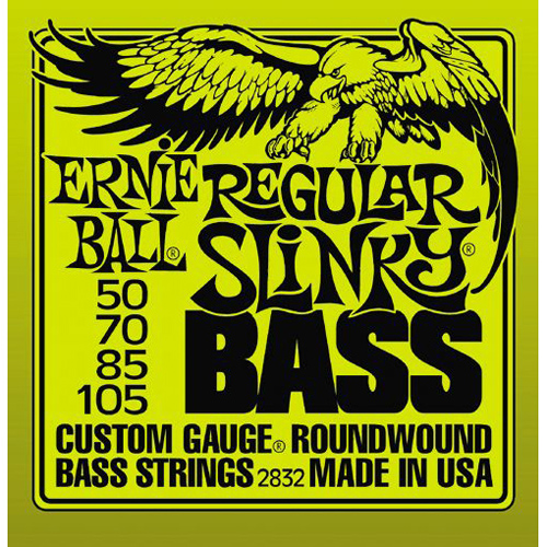 Ernie Ball Regular Slinky Bass Guitar String Set