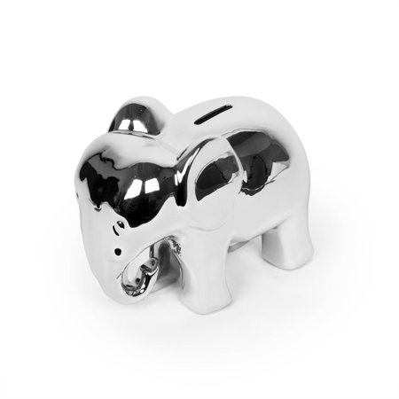 Elephant Electroplated Piggy Bank