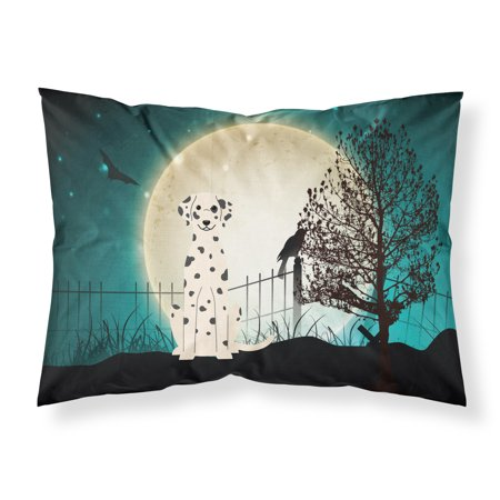 Halloween Scary Dalmatian Fabric Standard Pillowcase BB2287PILLOWCASE