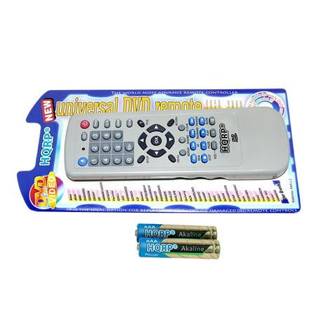 HQRP Remote Control for Panasonic DMP-BD35, DMP-BD55, DMP-BD60, DMP-BD70, DMP-BD755, DMP-BD77, DVD-S48, DVD-S500 DVD Player Blu-ray Disc + HQRP