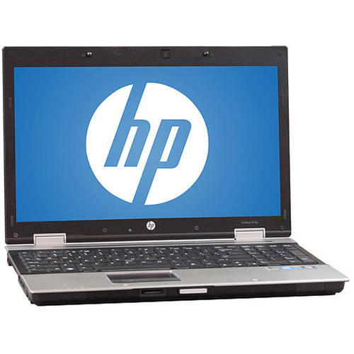 "Refurbished HP 15.6"" Compaq 8540P Laptop PC with Intel Core i7 Processor, 4GB Memory, 750GB Hard Drive and Windows 10 Pro"