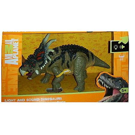 Animal Planet Light and Sound Dinosaur - Styracosaurus - Dinosaur Animal Planet
